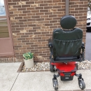 PRIDE MOBILITY POWER WHEEL CHAIR