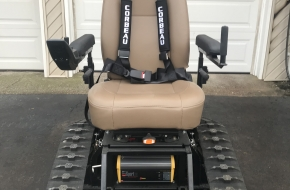 Details about  TracFab All Terrain Tracked Wheelchair Trackchair Tank Chair Action Trac Fab