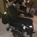 Power Mobility Chair for Fully Paralyzed User