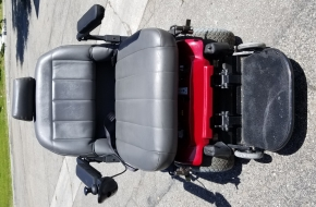 Pacesaver Scout BOSS 6.75 CC Bariatic Power Wheelchair