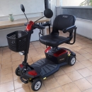PRIDE GO-GO 4-wheel scooter with CTS suspension