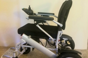 ComfyGo Power Wheelchair 2019 (Lightweight, Foldable)