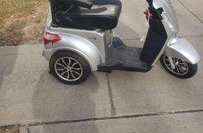 Pride Rapter-3 wheel scooter