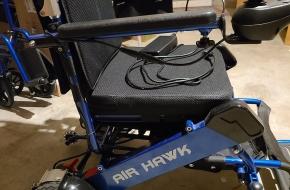 Air Hawk Motorized Wheel Chair