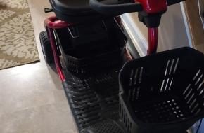 Golden 4 wheel scooter