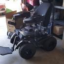 Outdoor 4X4 wheelchair  Extreme X8 4X4  all terrain