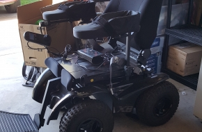 Outdoor 4X4 wheelchair  Extreme X8 4X4  all terrain