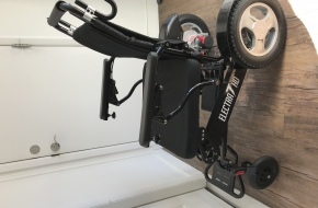 Power Wheelchair (Electra7 HD WIDE Lightweight & Folding)