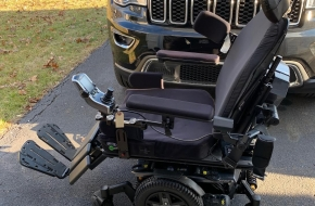 Q6 Edge Power wheelchair- Multiple power option