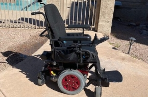 Q6 Edge 2.0 quantum wheel chair- Red – Many New Parts