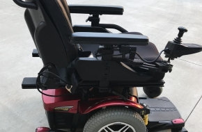 Quantum 614 5 speed electric mobility scooter