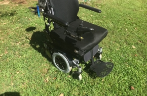 Heavy Duty Power Wheelchair with carrier