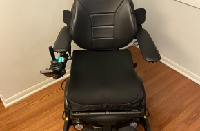 Barely Used Permobil M3 Corpus Power Wheelchair