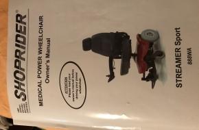 Medical Power Wheel Chair – Streamer Sport 888WA