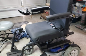 Quantum Rival 3MP-SS Power Chair with TruBalance3 Elevation System