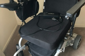 Electric Wheelchair – light weith and foldable