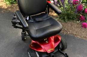 Pride Jazzy Elite ES Power Wheelchair – Like New!