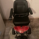Pride Mobility Jazzy Select Elite Electric Power Chair-Red