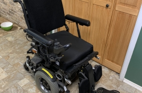All Track M Series Electric Wheelchair in Great Condition