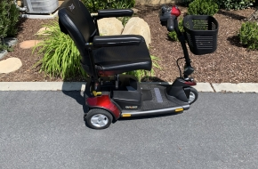 Pride Three Wheel Mobility Scooter