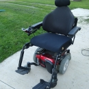 Quantum 6Edge power wheelchair