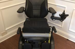 Permobil F3 Corpus Power Wheelchair w/TILT, RECLINE & LEGS