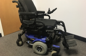 Quantum 610 Jazzy Scooter Mobility Chair