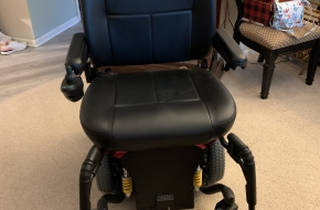Pride Electric HD Jazzy 614 Wheelchair