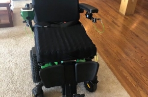 Quantum Edge 3 Power Wheel Chair  (nearly new)