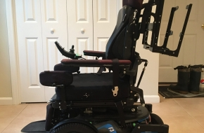 Permobil F3 Corpus Power Wheelchair All Four Functions