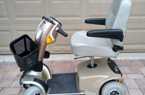 Used Pride Legend 4 Wheel Mobility Scooter