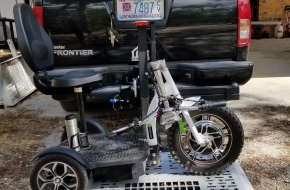 Selling Euro Scooter With Fully Automatic Scooter Lift $2,000.00