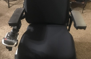 Brand new never used power wheel chair fully loaded