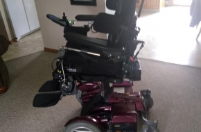 Permobil C400 electric wheelchair