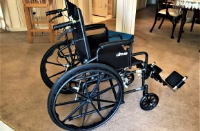 Driver Standard Wheelchair with Seating Pad
