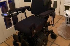 Customized motorized wheel chair