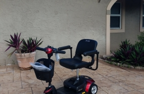Pride Mobility Go-Go Elite Traveller Plus 3 Wheel – OPEN BOX