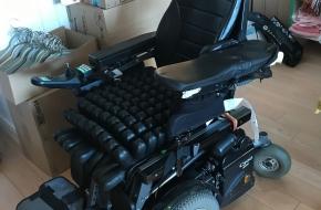 Wheelchair Permobil C500 power chair Tilt & Stand